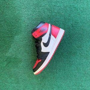 """Jordan 1's """"Bred Toe"""""""
